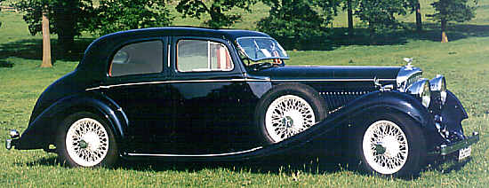 Bentley 3 1/2 Liter, 1935, #B121EJ, Gurney Nutting Saloon