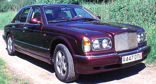sale used cars rac for arnage bentley