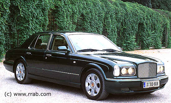 bentley arnage r. Black Bedroom Furniture Sets. Home Design Ideas