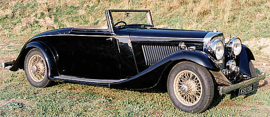 Bentley 3 1/2 Liter, 1934, #B43BN, Hooper Coupé Cabriolet