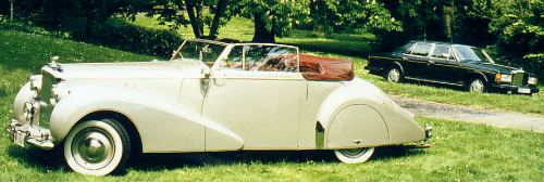 Bentley Mark VI, 1947, #B141BG