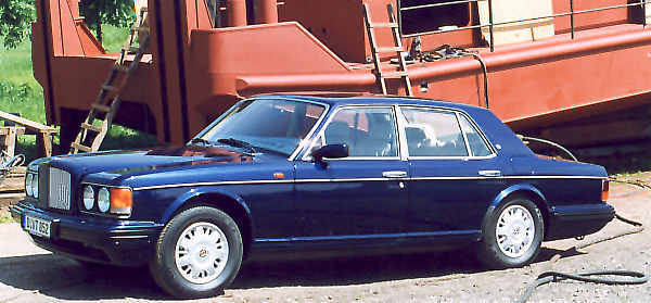 Bentley brooklands 1996