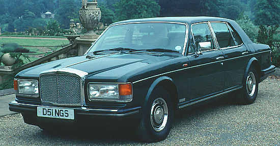 bentley eight, 1984