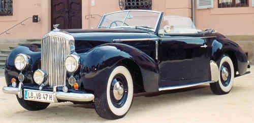 1953 bentley mark vi