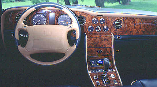 """New"" Bentley Turbo R, 1997,"