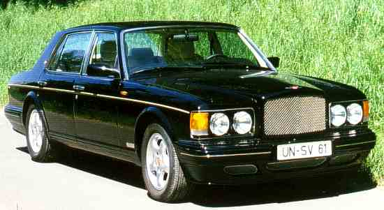 Bentley Turbo RT, 1997