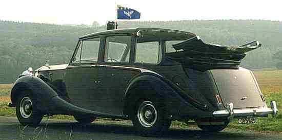 Hooper Rolls - Royce Emperor State Landaulette