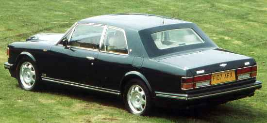 Two-Door Bentley Turbo R
