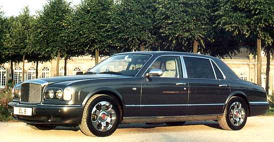 Car Of The Month February 2003 Bentley Arnage Rl