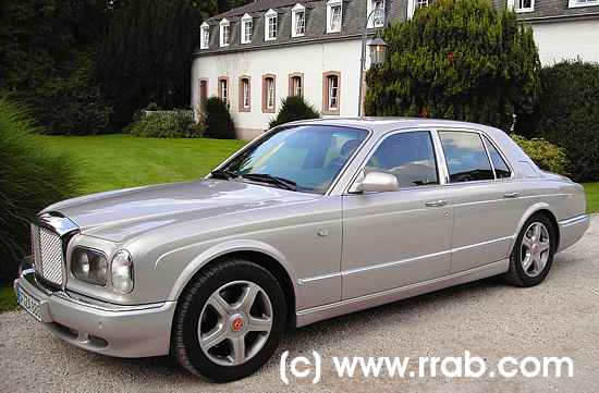 auto des monats - märz 2006 - bentley arnage red label