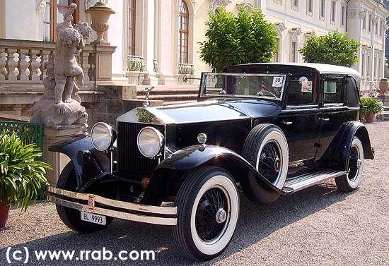 Car of the Month - December 2010 - Rolls-Royce Phantom I