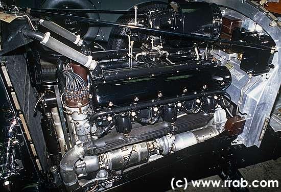 Car of the month july 2011 rolls royce phantom iii for Rolls royce phantom motor