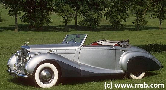 Car of the Month - February 2014 - Bentley Mk VI