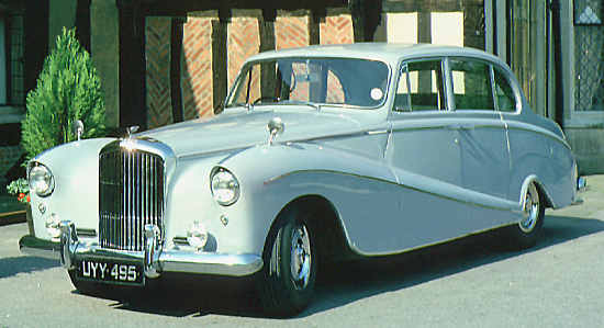 Bentley S1, 1957, #B504EG, Hooper Saloon