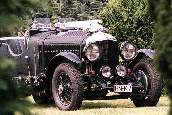 Bentley 4 1/2 Liter, 1937, Open Tourer