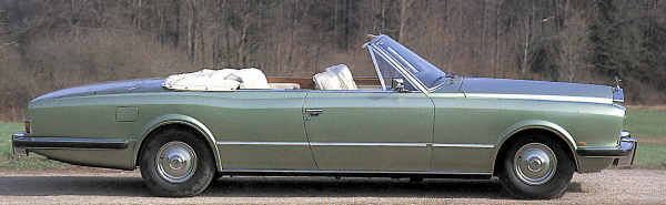 Phantom VI Frua Drophead Coupe
