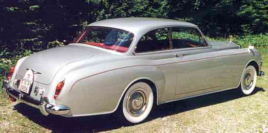 Rolls-Royce Silver Cloud, James Young