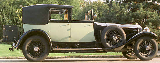 Rolls-Royce Phantom I, 1928