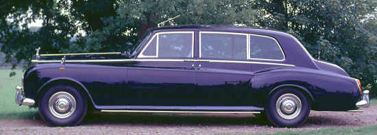 Rolls-Royce Phantom VI, 1969, #PRH4595, Mulliner Park Ward Limousine