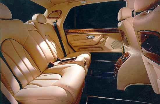 Rolls Royce Interior. Rolls-Royce Park Ward Interior