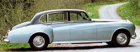 Rolls-Royce Silver Cloud III, 1964, #CEL17, long wheelbase